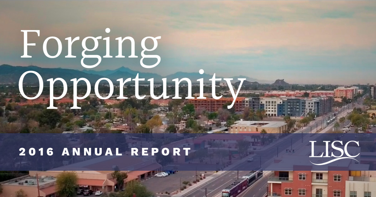 Donors | LISC 2016 Annual Report