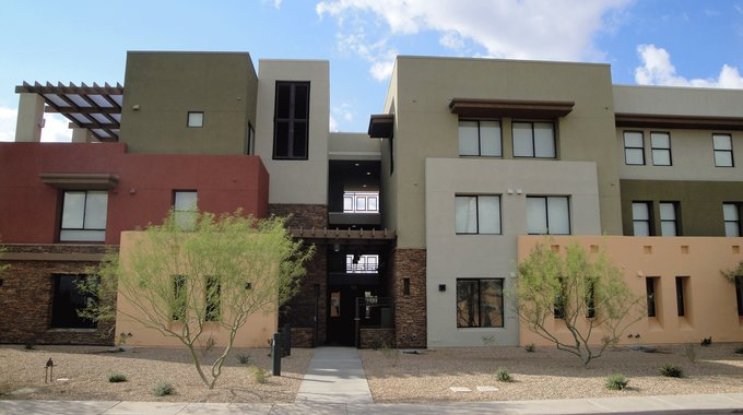 Victory Place IV, the final development of a campus of affordable housing and services for formerly homeless veterans in Phoenix.