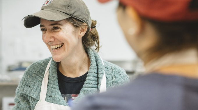 "Elizabeth Garber runs ""The Best Chocolate in Town,"" a growing truffle and candy company that ships nationwide and employs local residents in a refurbished industrial building in Indianapolis, supported by LISC."