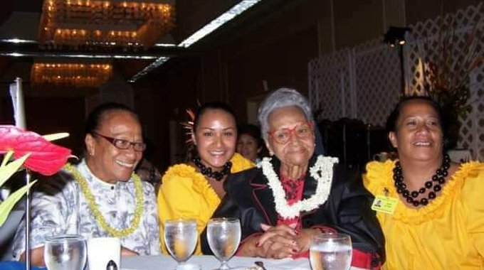 A long lineage of community advocates: Williams, second from left, with her grandmother (far left), great-grandmother and mother (far right).