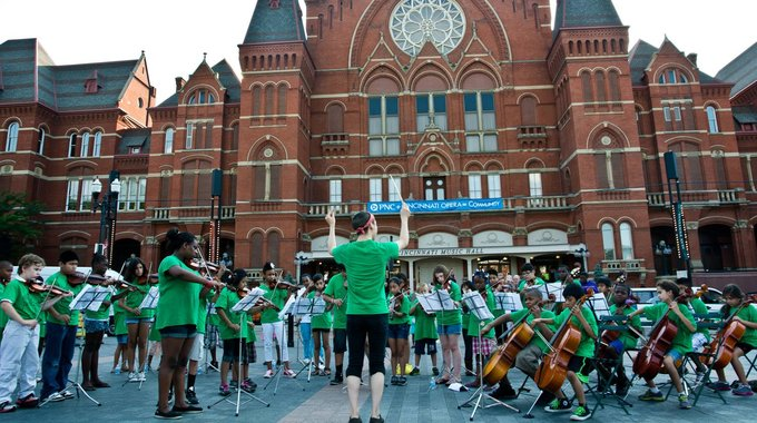MYCincinnati (Music for Youth in Cincinnati), a free orchestra program, emerged as part of a broad creative placemaking effort in the Price Hill neighborhood.