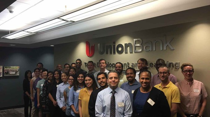 The 2016 HDTI Cohort - special thanks to our sponsors Union Bank!