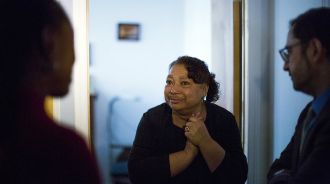 Mattie Eddy's Far Rockaway home was one of the 501 renovations made possible, in part, by LISC NYC's Home Repair program in the wake of Hurricane Sandy.