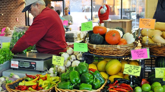 The Indy Winter Farm Market in Indianapolis makes it possible for area farmers and food businesses to sell their products, and for residents to eat local produce, all year long.