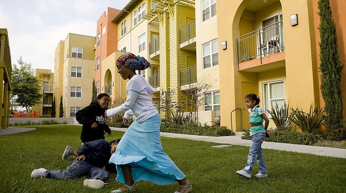 City Heights, San Diego, Affordable Housing Project