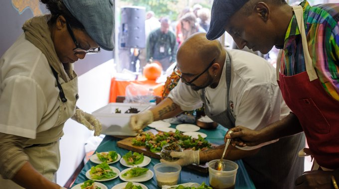 West Harlem's Community Healthy Food Hub