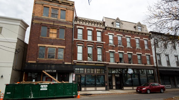 LISC made a $700,000 loan to help turn a row of buildings on the Pike Street corridor into a 20,000-square-foot, mixed-use project.