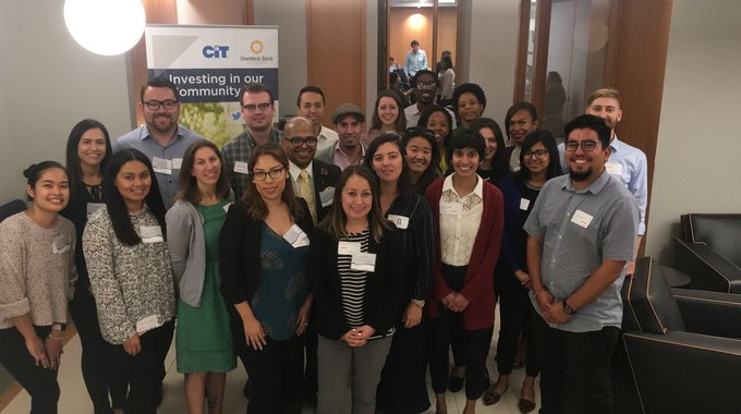 The 2018 HDTI Fundamentals Cohort - special thanks to our sponsors CIT/One West Bank!