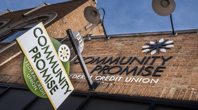 Community Promise Federal Credit Union opened in a county land bank-owned building in Kalamazoo's Edison neighborhood. Edison is one of the areas where LISC is investing part of the $10 million in community development funds from the City of Kalamazoo.